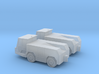 GSE Airport Tow Tractor 1:144 2pc 3d printed