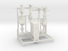 Pump Station Scale model 3d printed