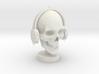 Skull DJ 3d printed