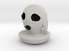 Halloween Character Hollowed Figurine: DoggyGhosty 3d printed