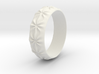 Clementine - Ring - US 9 - 19 mm inside diameter 3d printed