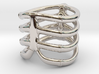 Thorsten 4 Rib - Ring 3d printed