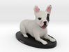 Custom Dog Figurine - Dali 3d printed