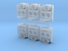 SP Nose Cluster (N - 1:160) 6X  3d printed