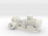 O Scale Centrifugal Pump #1 (Size 4) v2 3d printed