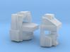 Blocky Glider Head IDW version 3d printed