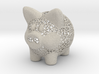 Peak A Boo Piggy Bank 2 Inch Tall 3d printed