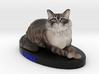 Custom Cat Figurine - Lorna 3d printed