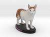 Custom Cat Figurine - Rupert 3d printed