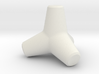 Tetrapod 3d printed