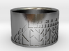 Ring SPO 01 (size 66 / US 11 / diam. 21mm) 3d printed