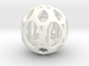 Sphere housing a mobile cube 3d printed