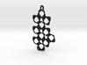 HYPERLOOP Earrings, SINGLE 3d printed