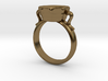 Agape Ring 3d printed