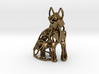 GeoCat Cat Pendant Charm 3d printed