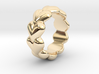 Heart Ring 23 - Italian Size 23 3d printed