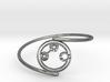 Adaline - Bracelet Thin Spiral 3d printed