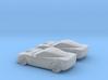 1/160 2X 2003-13 Chevrolet  Corvette C6 3d printed
