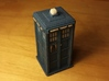 Pixelated Tardis (Modern-era) 3d printed