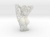 Female Bust Voronoi 3d printed