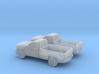 1/160 2X 2013 Chevrolet Sillverado Single Cab Long 3d printed