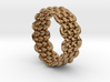 Wicker Pattern Ring Size 6 3d printed