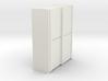 A 013 sliding closet Schiebeschrank 1:87 3d printed