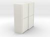 A 014 sliding closet Schiebeschrank 1:87 3d printed
