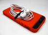"Cariband case for iPhone 5/5s, ""holds stuff"" 3d printed Holds Earbuds"