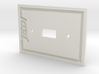 Jedi Light Switch Plate 3d printed