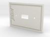 Jedi Light Switch Plate 3d printed