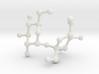 Sucrose (Sugar) BIG Molecule Necklace 3d printed