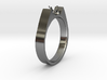 Design Ring For Diamond Ø19 Mm US Size 9 3d printed