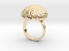Urchin Statement Ring - US-Size 10 1/2 (20.20 mm) 3d printed