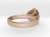 Gold Mine Ring - UK M (inside diameter 16.71mm) 3d printed