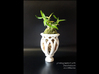 "Epiphyte Planter ""Urn"" 3d printed Printed in glazed ceramics."