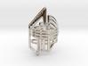 Balem's Ring2 - US-Size 7 1/2 (17.75 mm) 3d printed