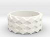 Futuristic Diamond Ring Size 9 3d printed