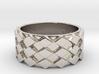 Futuristic Diamond Ring Size 10 3d printed