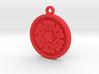 Rose Pendant For Shapeways 3d printed