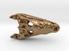 Crocodile Skull Pendant  3d printed