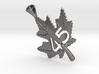 Canadian Maple Leaf Pendant 3d printed Canadian Maple Leaf Pendant
