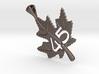 Canadian Maple Leaf Pendant 3d printed