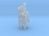 Pool Player Sitting High Chair 3d printed