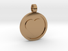 """Personalized Heart Pendant - Say """"I Love You""""  3d printed"""