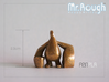 Mr. Rough (Happy Arttoy) - 2 poses set 3d printed Pose1 : Standing