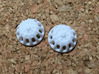 Doll Eyes Steampunk Moving Gears: 17mm  3d printed