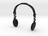 Headphones BOSS Version: BJD Doll MSD fourth size 3d printed
