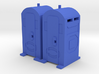 Porta Potty - HO 87:1 Scale Qty (2) 3d printed