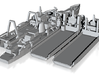 1/1250 Cod Wars Set 3 3d printed